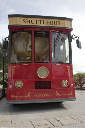 Oh yeah, shuttlebus!